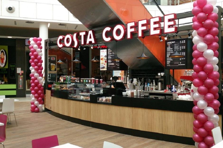 Costa Coffee otworzyła dwie placówki w jednej galerii