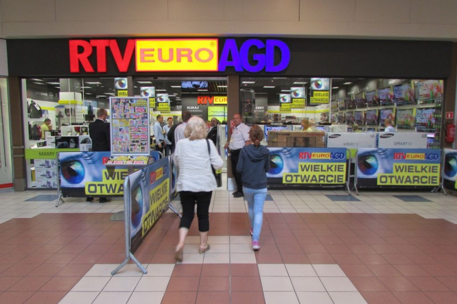 RTV EURO AGD powiększył salon w Gdańsku