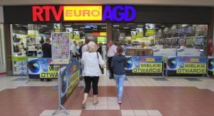 Sześć nowych sklepów i dziewięć po modernizacji. Oto bilans ostatnich miesięcy w Rtv Euro Agd