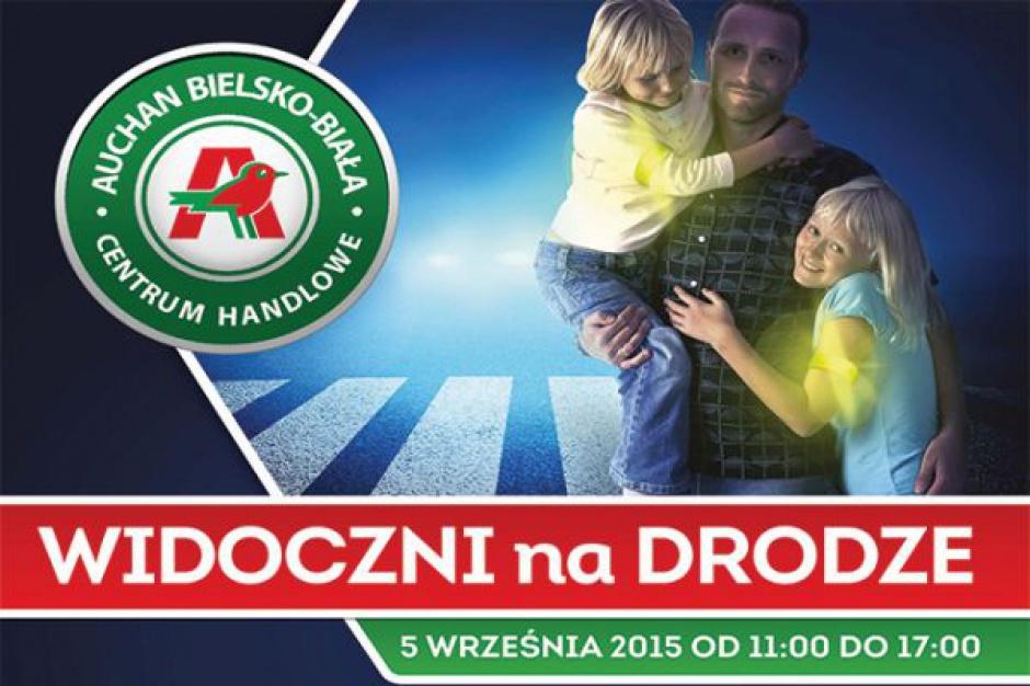 Kampania edukacyjna Odblaskowi.pl w 22 galeriach Auchan