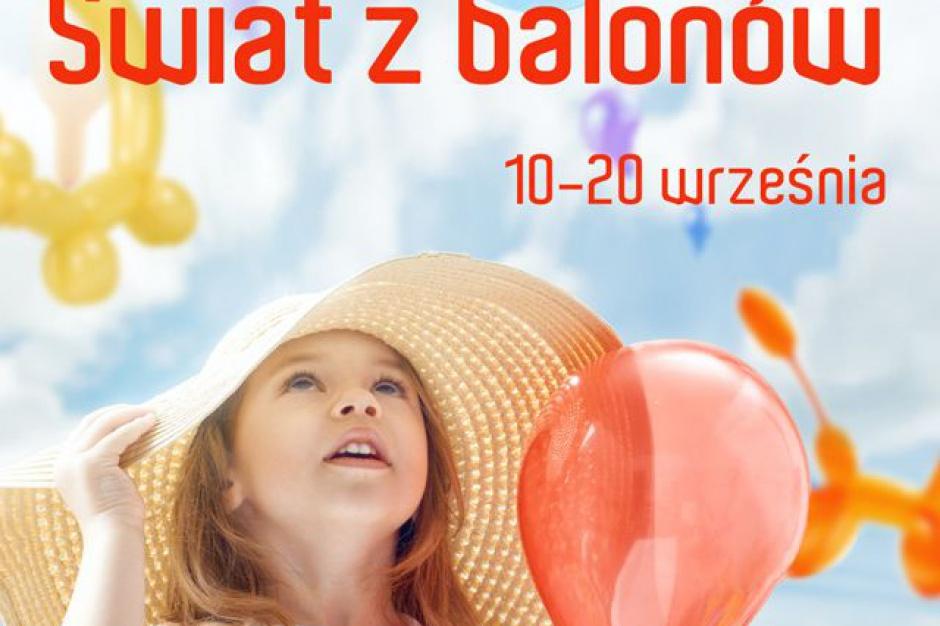 Balonowa wystawa w Poznań City Center