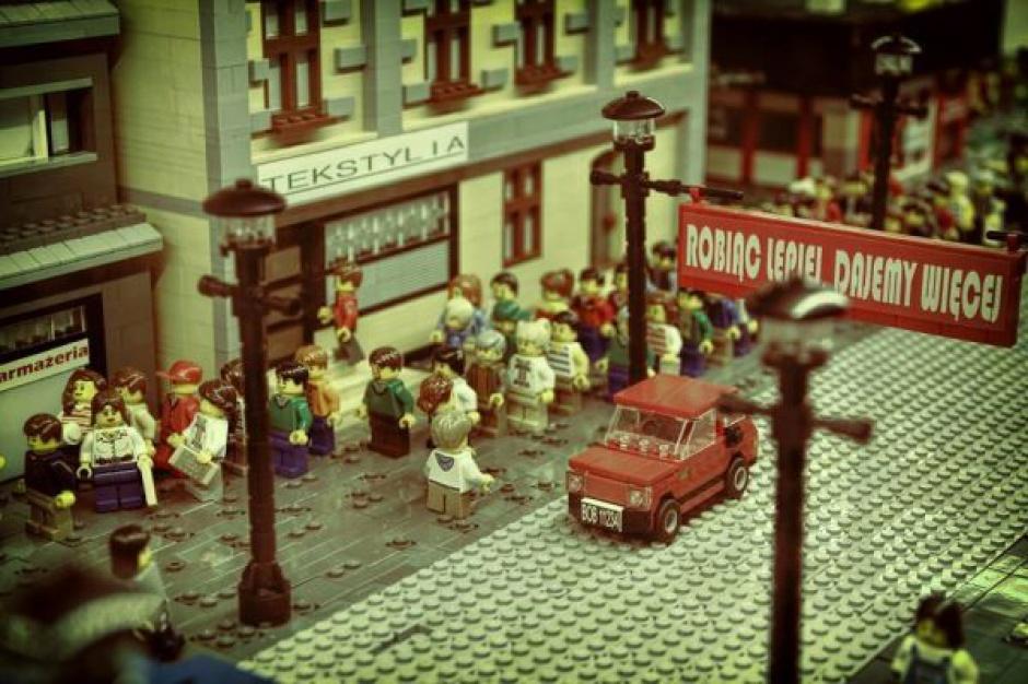 Największa w Polsce wystawa LEGO startuje w Outlet Center
