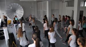 Szkoła dla modelek w Galerii Katowickiej