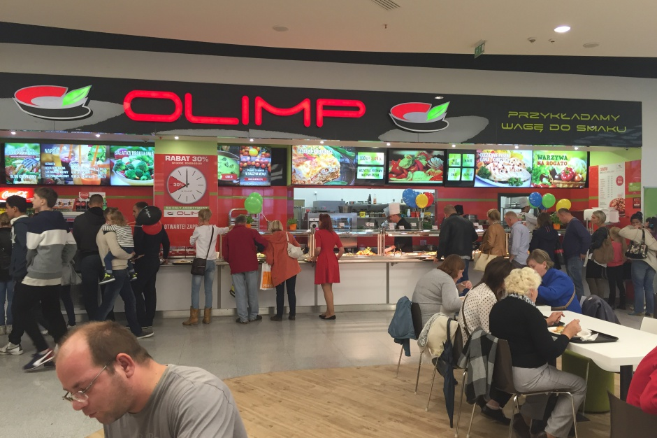 Olimp zadebiutował w Łodzi