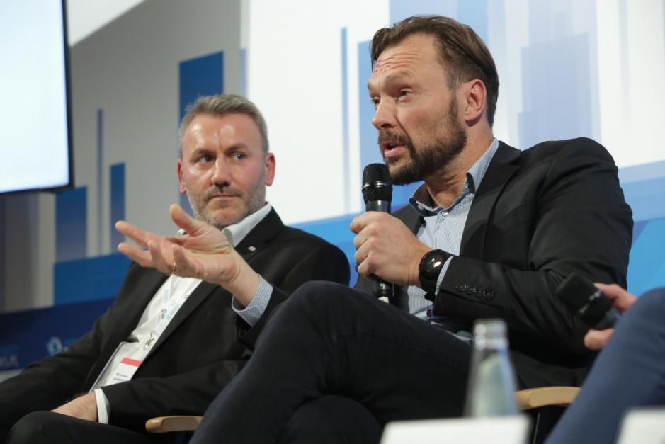 Mirosław Gadomski i Yann Gontard