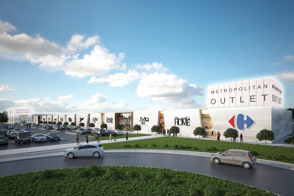 Metropolitan Outlet Bydgoszcz wynajęty już w połowie