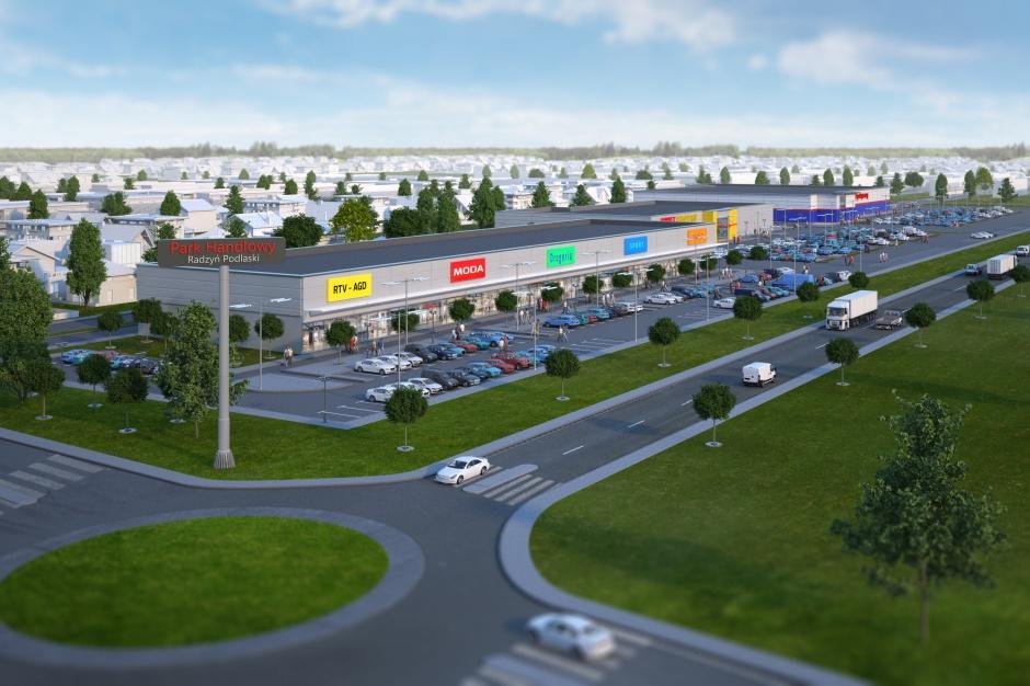 Pierwszy nowoczesny obiekt handlowy w Radzyniu Podlaskim