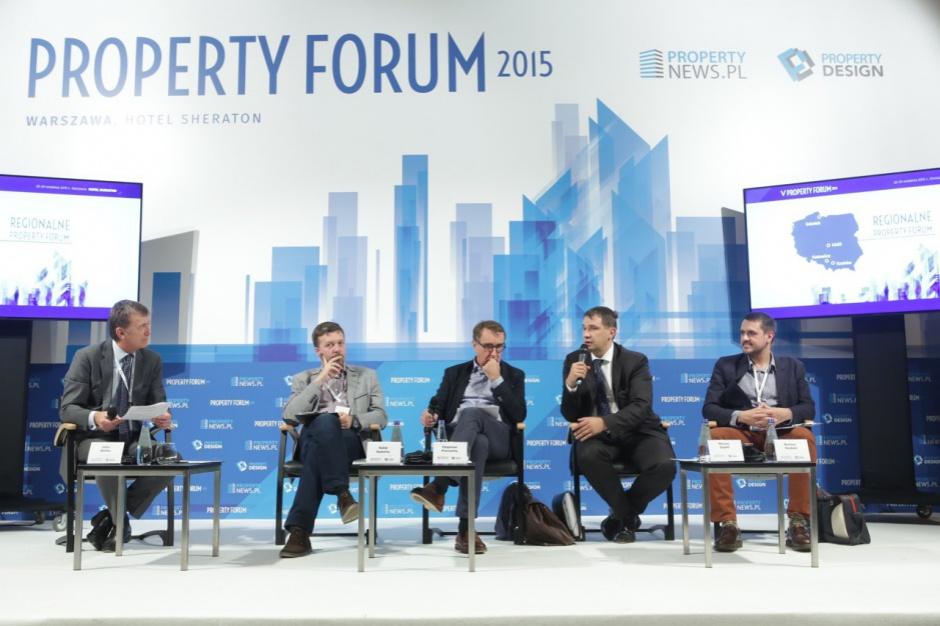 Uciec od monofunkcji - relacja z Property Forum