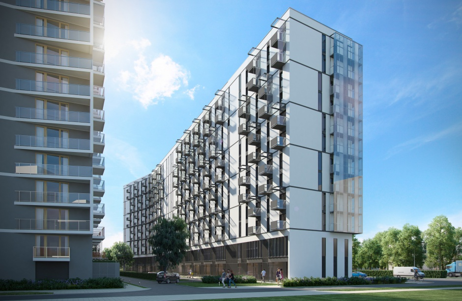 Aparthotel Wola Invest, J.W. Construction