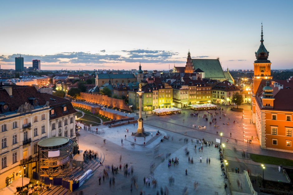 Turyści w Warszawie mogą korzystać z najnowszych technologii