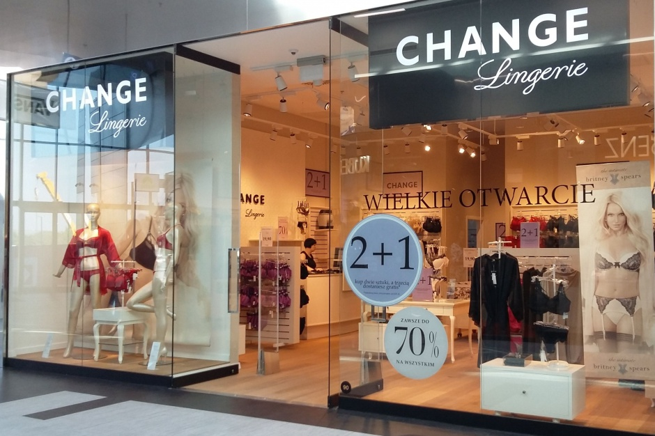 Change Lingerie powiększa sieć salonów