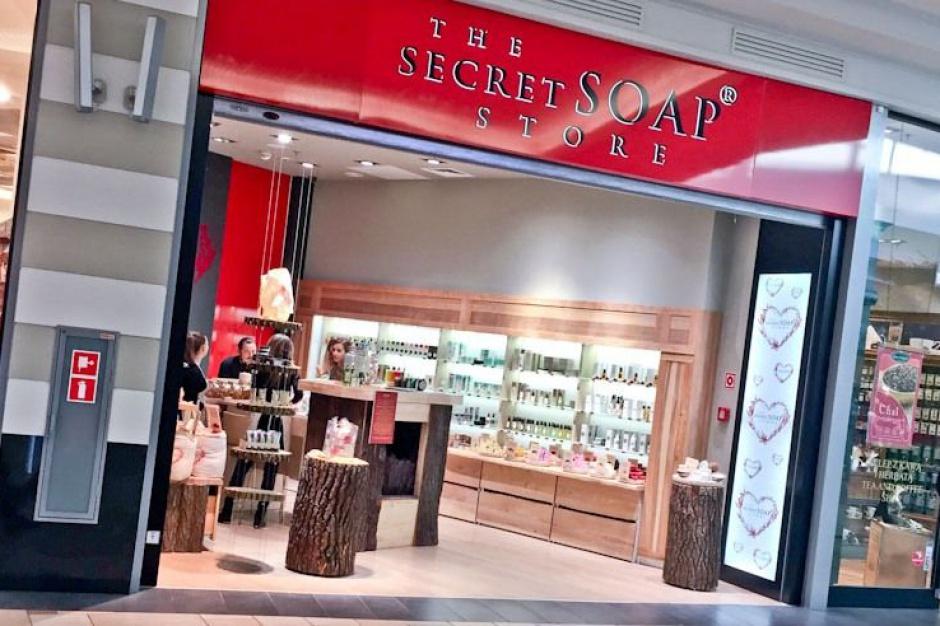 The Secret Soap Store w katowickim centrum Silesia