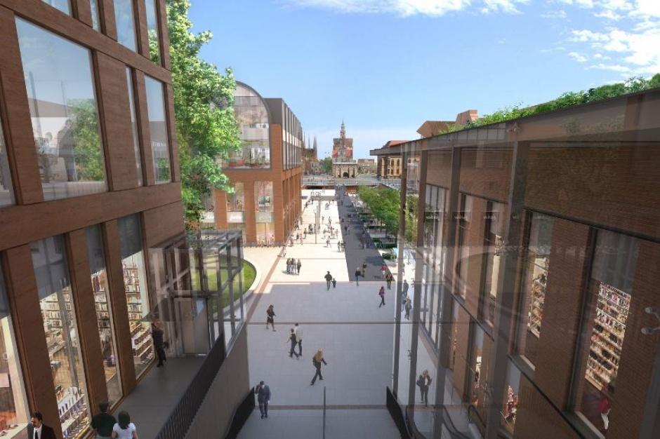 Powstaje droga odciążająca ruch przy Forum Gdańsk