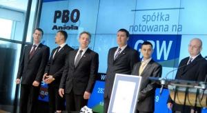PBO Anioła ostatecznie znika z giełdy
