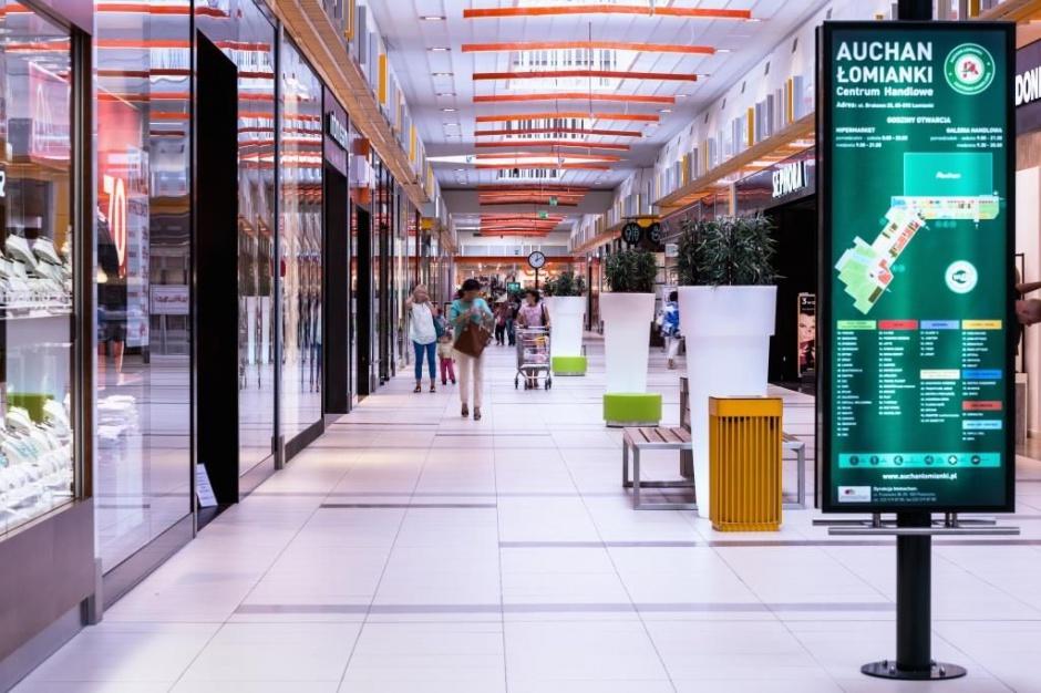 Biuro turystyczne najemcą Centrum Handlowego Auchan Łomianki