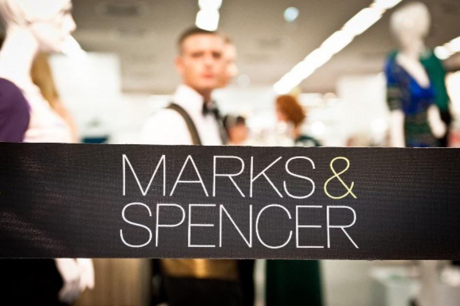 Sprzedaż Marks&Spencer poszła w górę
