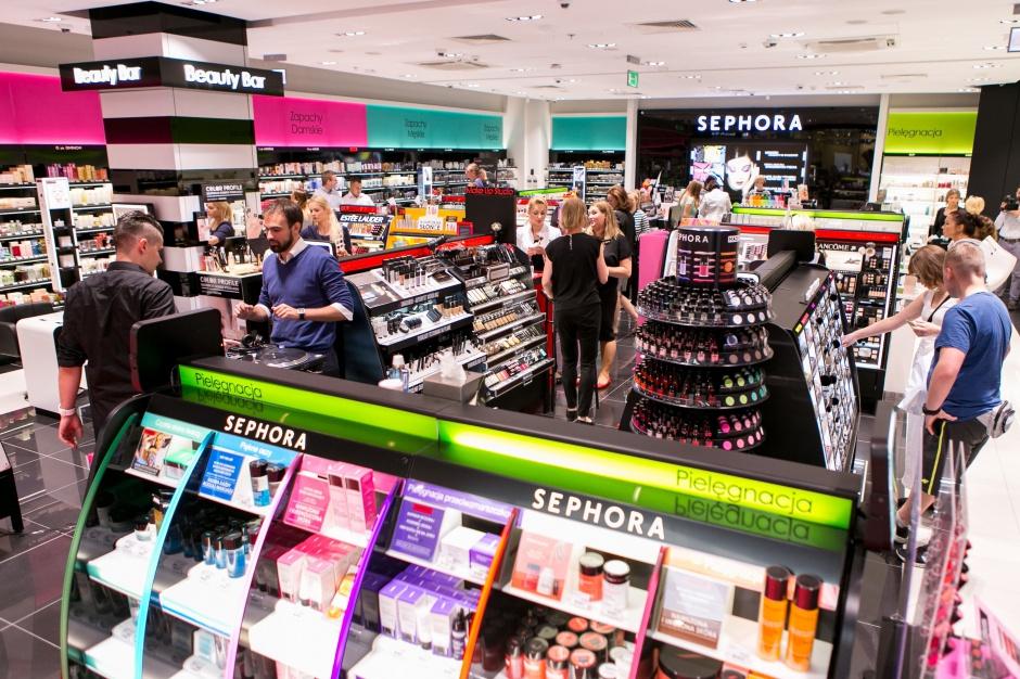 Trzeci salon sieci Sephora w Bydgoszczy
