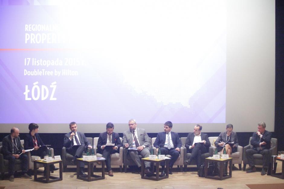 Property Forum Łódź 2015, sesja Łódź się budzi, inwestycji przybywa – perspektywy rozwoju rynku biurowego