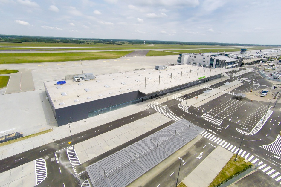 Skanska modernizuje lotnisko w Pyrzowicach