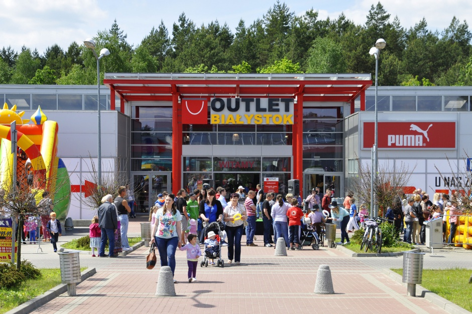 Outlet Białystok rusza po przebudowie