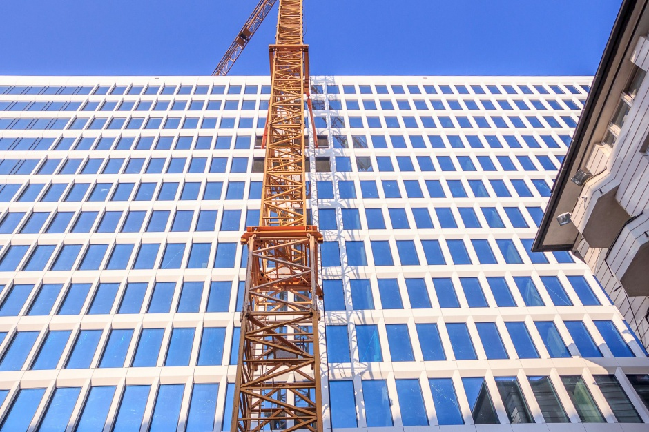 Konstrukcja biurowca Atrium 2 już gotowa