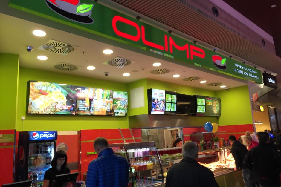 Restauracja Olimp w Vivo! Stalowa Wola