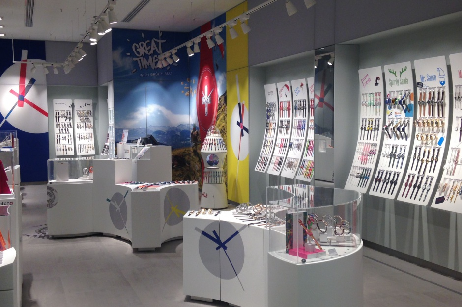 Swatch otworzył największy sklep w Polsce