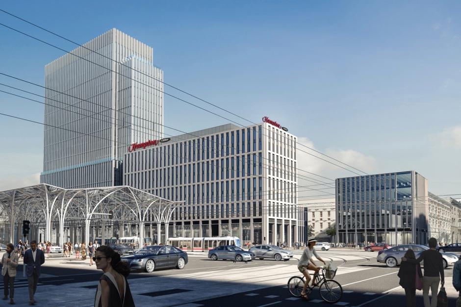 Hilton w centrum Łodzi. Znamy szczegóły nowego projektu