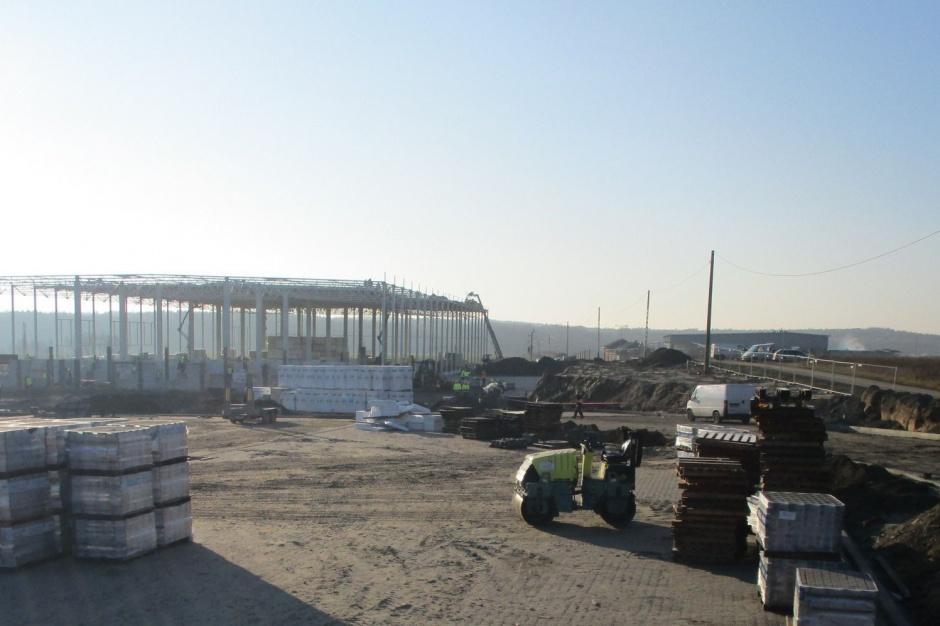 Waimea Logistic Park Korczowa - wieści z budowy