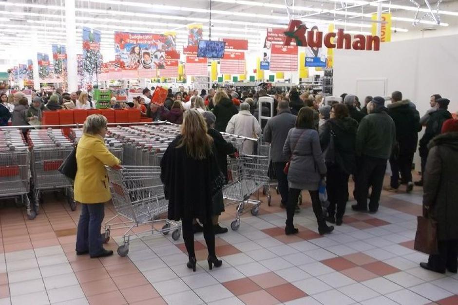 Nowy Auchan w Łodzi