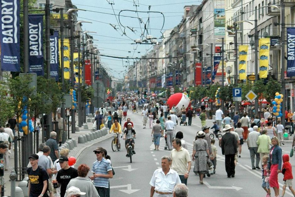 Ulice handlowe atrakcyjne głównie dla lokalnych przedsiębiorców