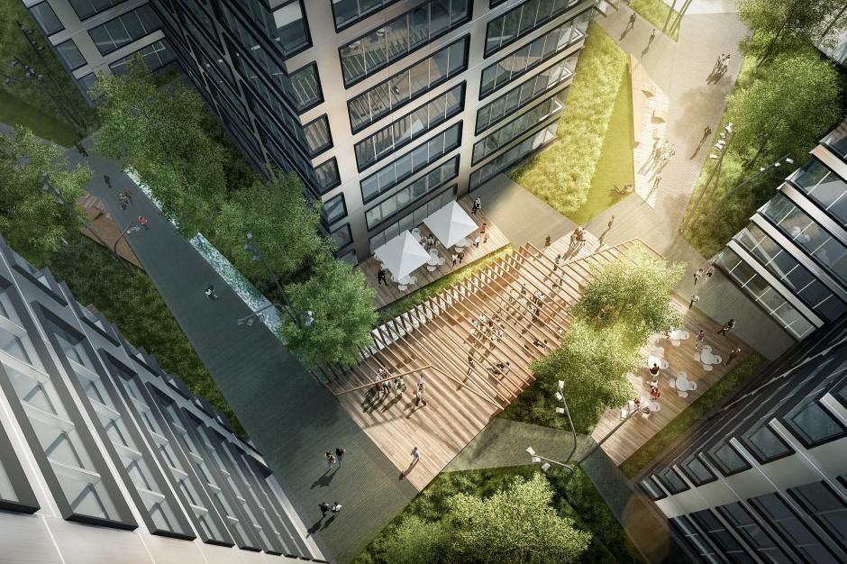 Skanska buduje wieżę. Trzeci etap Generation Park na starcie