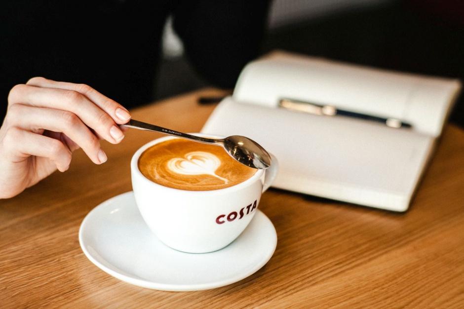 Costa Coffee w biznesowym centrum Warszawy