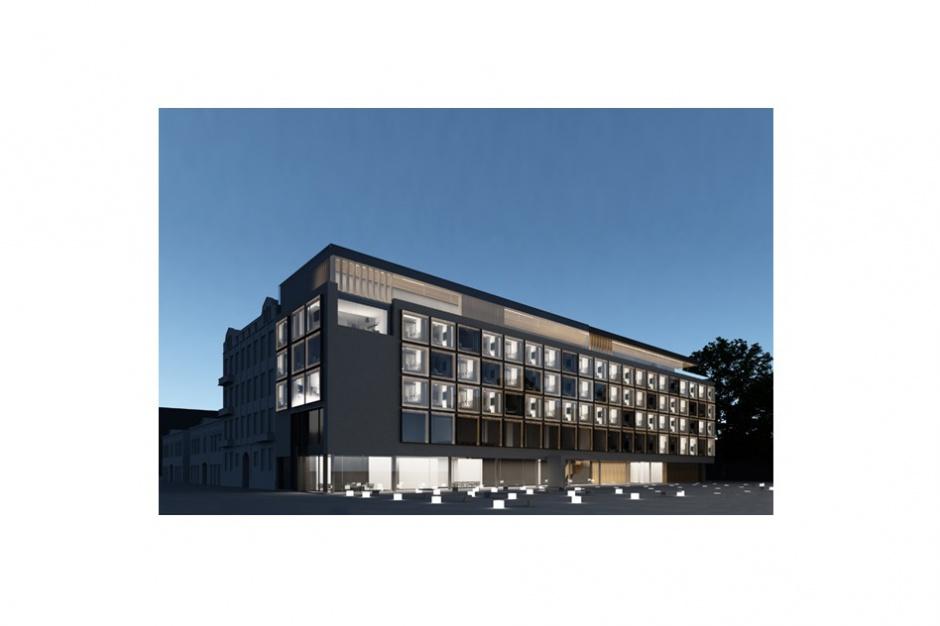 Łódź zyska cztery gwiazdki. Hotel Puro z symboliczną wiechą