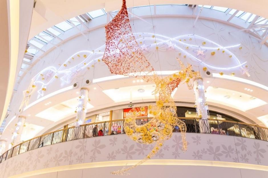 Galeria Bronowice z najpiękniejszą iluminacją w Małopolsce