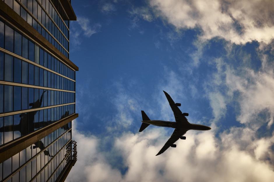 Wysokie loty portów lotniczych