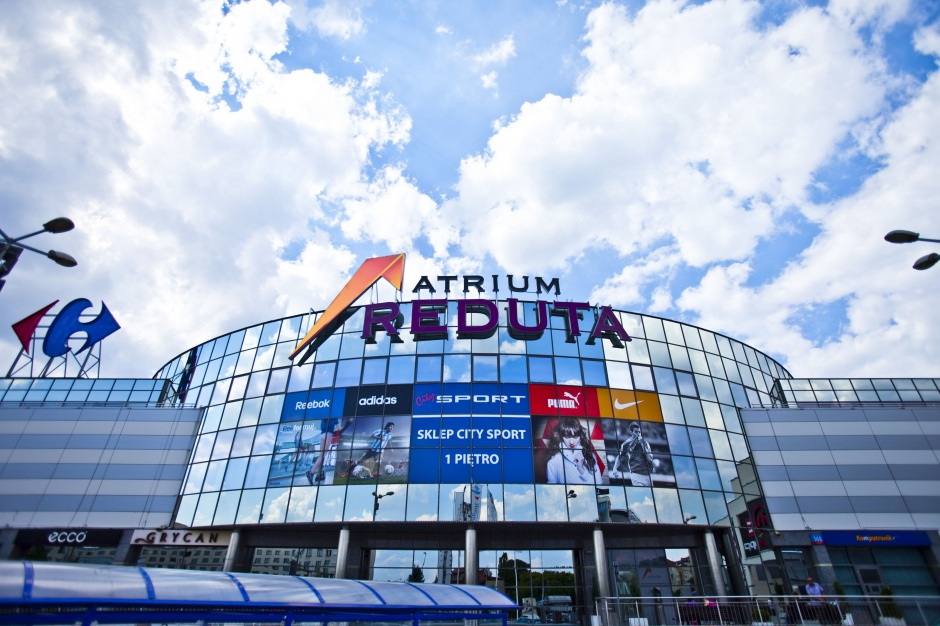 Atrium Reduta zakończyło drugi etap przebudowy
