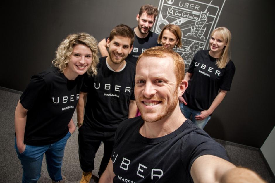 Uber rekrutuje do biur w Krakowie i Warszawie