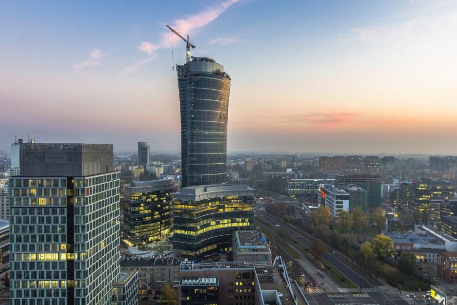 Drugi budynek kompleksu Warsaw Spire oddany do użytku