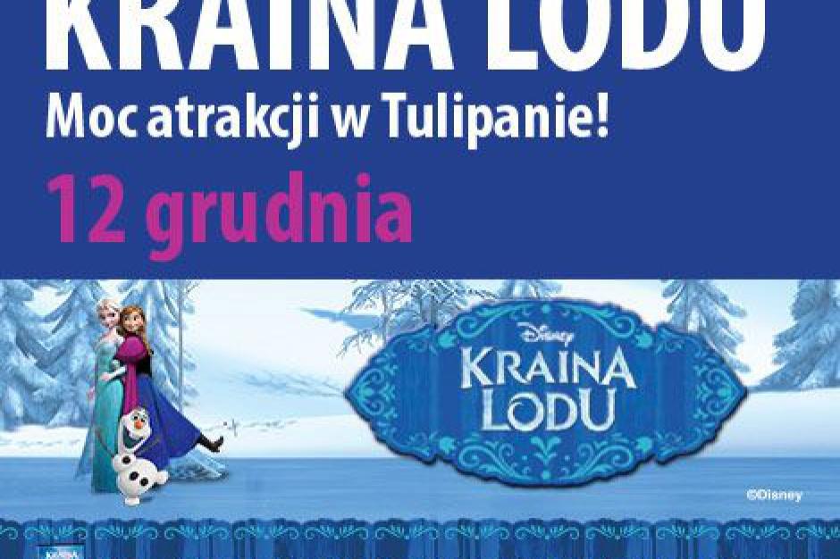 Kraina Lodu zagości w CH Tulipan