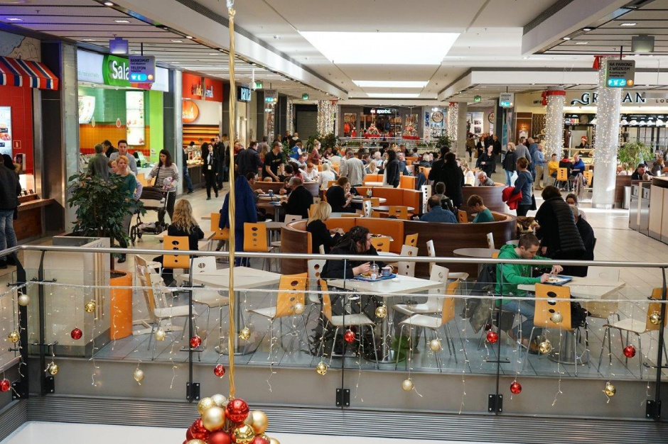 Focus Mall Bydgoszcz wyremontował food court