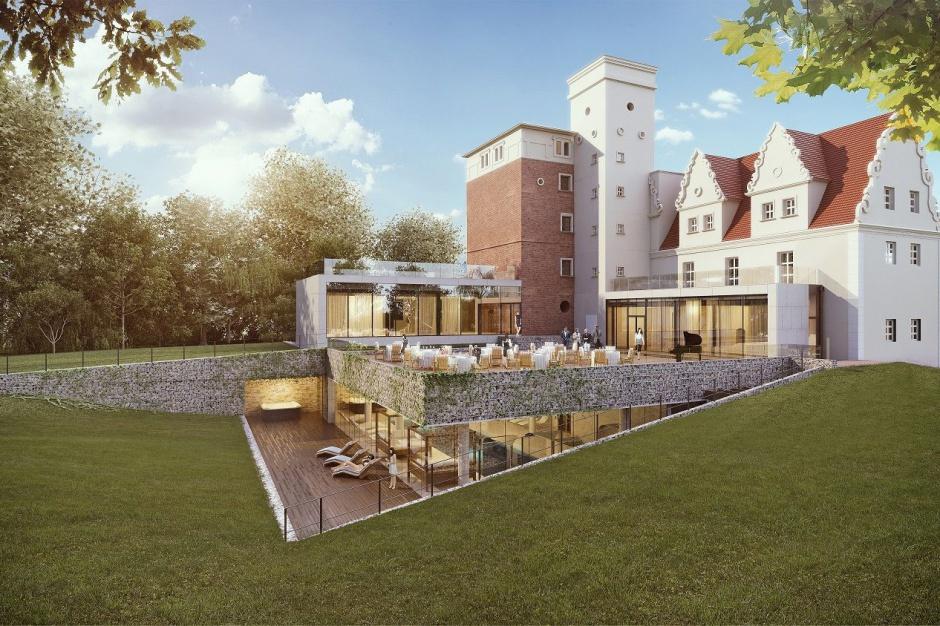Zamek Topacz zaoferuje luksusowe SPA
