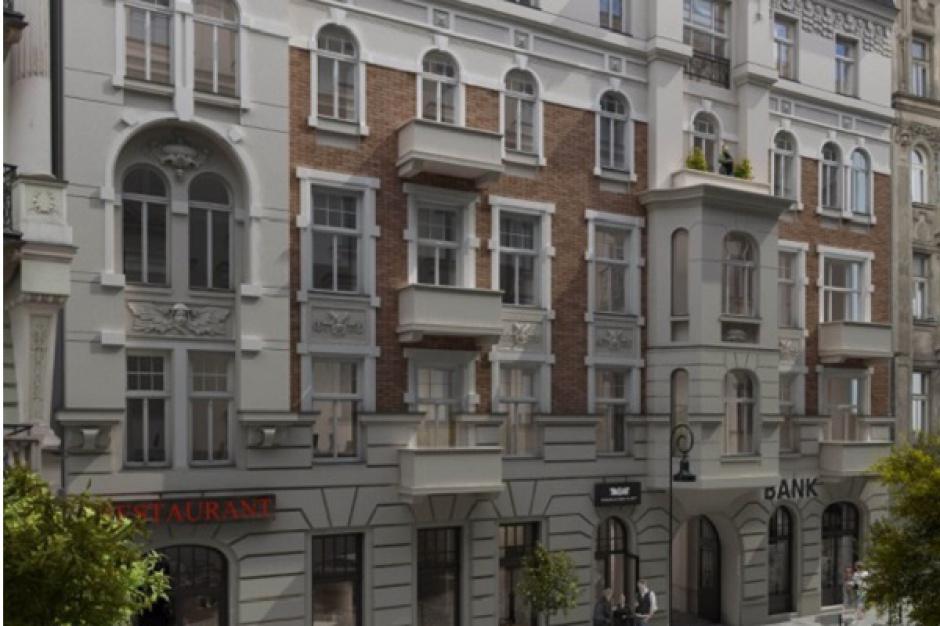Rusza modernizacja zabytkowej kamienicy w Warszawie
