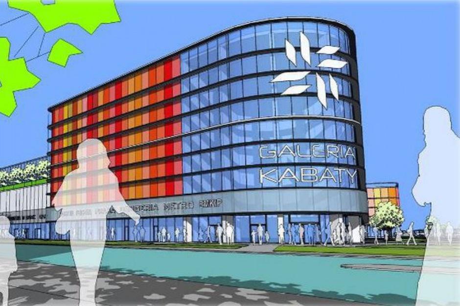 Budowa galerii Tesco na Kabatach zgodnie z planem