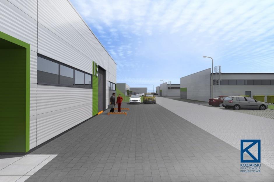 Centrum logistyczne Eko Park powstaje w Będzinie
