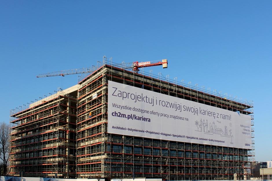 Krakowski biurowiec wynajęty w całości przez jedną firmę
