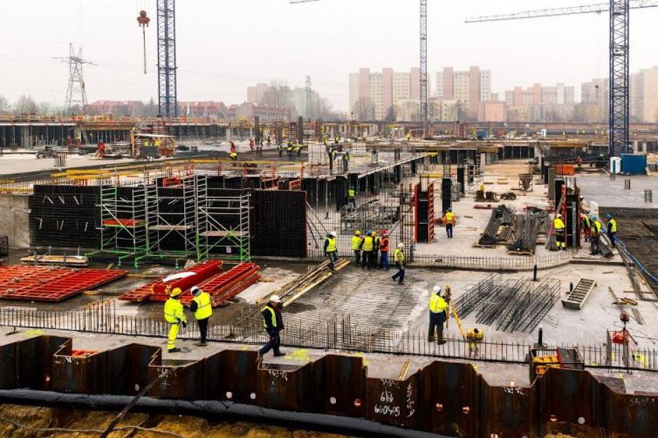 Galeria Północna: ruch na budowie i w komercjalizacji