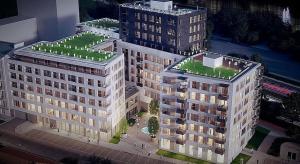 Biura Solec Residence rosną zgodnie z planem