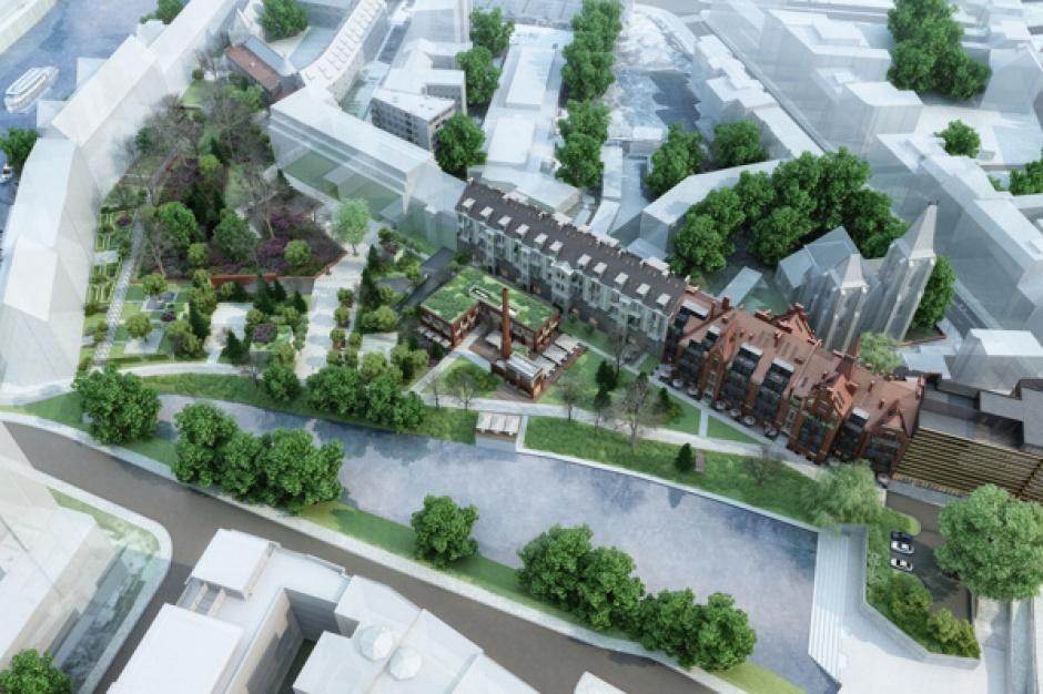Zabytkowy kompleks biurowy powstaje we Wrocławiu