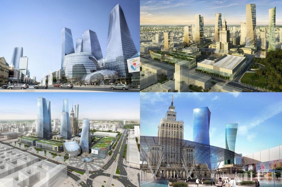 Teren wokół PKiN w Warszawie będzie przebudowany